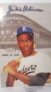 Jackie Robinson Memorabilia April 15 1997. Booklet Inc. 50th Year Patch/coin