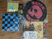 Mezco One 12 Rumble Society Krig Extras Patch Trading Cards Popeye Pins