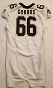 66 Ben Grubbs Of New Orleans Saints Nfl Locker Room Player Worn Jersey