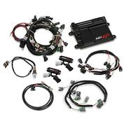 Holley 550-628 Ford Coyote Ti-vct Capable Hp Efi Kit Bosch O2