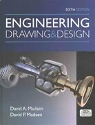 Engineering Drawing And Design By David Madsen 9781305659728 | Brand New