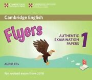 Cambridge English Young Learners 1 For Revised Exam From 2018 Flyers Audio Cd...