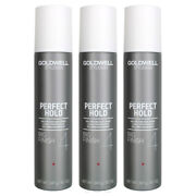Goldwell Hair Spray Stylesign Perfect Hold Big Finish 4 8.7 Oz Pack Of 3