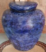 Exremely Rare Roland Ginzel Painter Wood Wall Mantle Vessel Vase Art Marked
