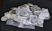 Lot Of 4 Pre 1965 Washington Quarters 90 Silver Assorted Dates And Mint Marks