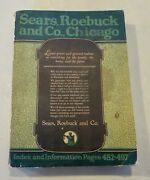 Original 1922 Sears Roebuck And Co. Catalog - 144 - 981 Pages