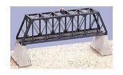318 Truss Bridge With Flasher And Piers