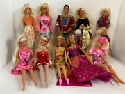Fashionistas Ken And Barbie Doll Set Of 11 Dolls Includnig King-style And Daughter