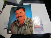 Tom Selleck Signed Autographed 8 X 10 Photo Jsa Certified