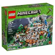 Lego - Minecraft 21137 The Mountain Cave - New -- See Description