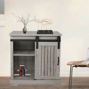 Rustic Modern Farmhouse Accent Storage Cabinet Sideboard Table Tv Stand