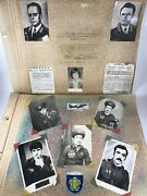 Russian Soviet Huge Military Photo Album Of Demobilized From The Army. Air Force
