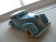 Vintage Thomas Toys 1930s Ford Lincoln Zephyr 7 Cast Iron Metal 1977 Issued