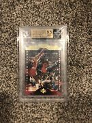 Michael Jordan 96-97 Collectors Choice A Cut Above Game Used Bgs 9.5