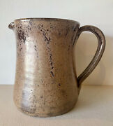 Signed And Inscribed Kenneth George Cole Pottery Sanford Nc Pitcher Beautiful Ec