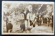 Mint Mexico Real Picture Postcard Rppc Execution Of 236 Men Revolution