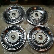 1964 Chrysler Imperial Lebaron Imperial Sets Of 4 Hubcaps
