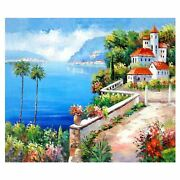 500 Piece Wooden Jigsaw Puzzles Oil Painting Jigsaw Puzzles Game, Ocean