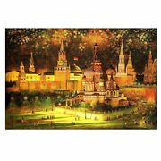 500 Piece Wooden Jigsaw Puzzles Christmas Eve Oil Painting Jigsaw Puzzles Toy...