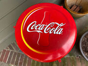 90's Czech Coca Cola Store Sign Soft Drink Advertising