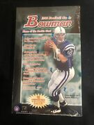 1998 Bowman Football Hobby Factory Sealed Box 🔥 Peyton Manning Auto Gold Rookie