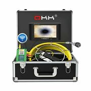 Sewer Camera Wireless Wifi Drain Pipe Inspection Camera For Android/ios, Okk ...