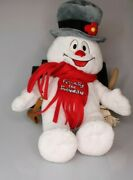 Frosty The Snowman Build A Bear Hat Pipe Scarf Broom 17in