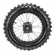 12mm Dirt Bike Wheel Rear 80/100-12 Tire And Rim Assembly For 50cc 110cc 125cc 140