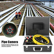 F9807d Waterproof Sewer Pipe Inspection Camera 7lcd Monitor Pipeline Camera 30m