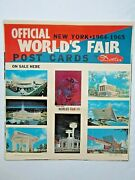 Vintage 1964 1965 New York Worldand039s Fair Post Cards On Sale Here Store Display