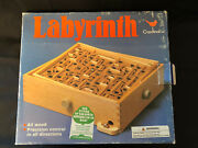 Vintage Labyrinth Wooden Puzzle Maze Game Wood Tilt Skill By Cardinal 190