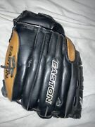 Easton Softball Glove Right-hand/left-hand Throw Black And Tan Bx1300b 13 Inches