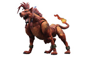 New Final Fantasy Vii Advent Children Play Arts Kai Red Xiii Pvc Action Figure