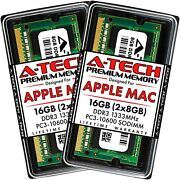 Computer A-tech 16gb Kit 2x8gb Ddr3 1333mhz Ram For Apple Macbook Pro Early/l