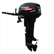 Superior Engine Water Cooling System Outboard Motor 18hp Inflatable Fishing