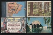 Us 1915 Pan-pacific International Expo Postcards Lot Of 4 Ppie22