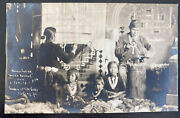 Mint Usa Rppc Real Picture Postcard Native American Navajo Indian Family