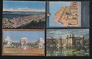 Us 1915 Pan-pacific International Expo Postcards Lot Of 4 Ppie23