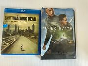 The Walking Dead Season 1 + After Earth Dvd With Will Smith