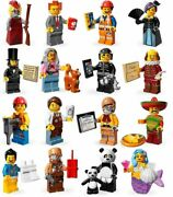 🔶you Pick The Lego Movie- Minifigures Series 1 And 2 / Wizard Of Oz 71004 Choose