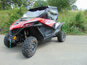 2020+ Cf Moto Zforce 950 Sport Full Cab Enclosure With A Lexan Windshield