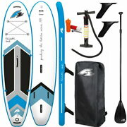 F2 Team 10and0395 Windsurf Sup Board Stand Up Paddle Surf-board Isup Mit 3-teiliges