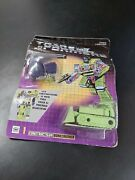 Rare New Transformers G1 1985 Constructicon Bonecrusher 1 Carded Toy Mexico