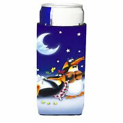 Carolineand039s Treasures Aph0243muk Music Under The Moon Penguins Michelob Koozi...