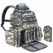 Tidewe Tactical Range Backpack Bag For Gun And Ammo With Pistol Case