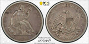 1848 O 50c Seated Liberty Half Dollar Pcgs Xf 40 Extra Fine New Orleans Mint