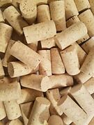 100 Blank Wine Bottle Corks- Bulk New 9 Agglomerated Natural Corks Best For Cor