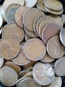 Bag Of 500 Lincoln Wheat Cent Pennies All 1930and039s Average Circulation 10 Rolls