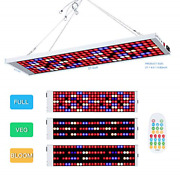 Led Grow Light600w 196 Led Growing Lamp Remote Control And Time Setting Full To