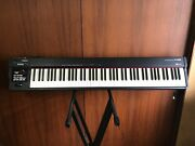 Roland A-88 88-key Midi Keyboard Controller With Hammer-action Keys D-beam